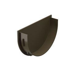 Водосточная система Docke Premium Заглушка воронки (шоколад)