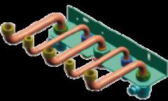 Комплектующие для систем водоснабжения и отопления Bosch S-образные трубки к Bosch ZWA 24-2 К(A)