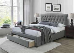 Кровать Кровать Halmar Avanti 160 (серый)