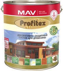 Защитный состав Защитный состав Profitex (MAV) для древесины (10л) красное дерево