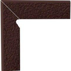 Клинкерная плитка Клинкерная плитка Ceramika Paradyz Natural Brown Duro цоколь угловой левый 30x30
