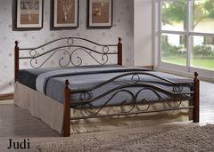 Кровать Кованая кровать Red&Black Джуди 803-180x200 (Темный орех)