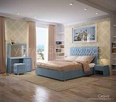 Кровать Кровать УЮТ Скала 200x200 (Kiton 11)