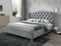 Кровать Кровать Signal Aspen Velvet 160 (серый)