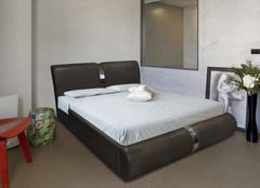 Кровать Кровать ZMF Милана (сп. место 140х200 см., черная)