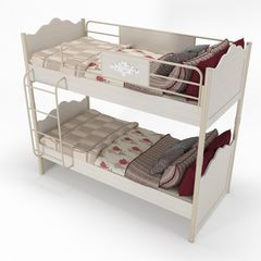 Двухъярусная кровать Аква Родос Мисс Флавер MsFi-2BED-90