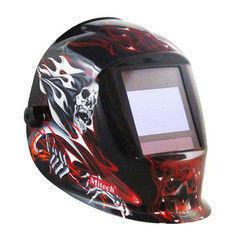 Mitech Маска сварочная Red Skull (WH-03)