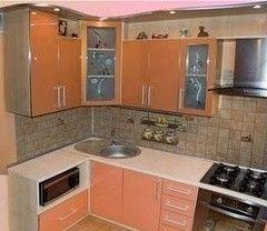 Кухня Кухня ЗОВ Латунный перламутр К-22