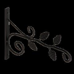 Полкодержатель, крючок Domax Кронштейн для кашпо декоративный UK 5 Листья 542401