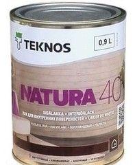 Лак Лак Teknos Natura 40 (0.9 л)