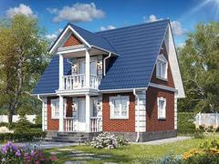 Строительство домов Строительство домов БелДревМонтаж Сокол К 6х8
