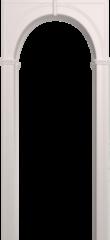 Межкомнатная арка Юркас Палермо Белая эмаль