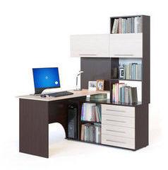 Письменный стол Сокол-Мебель КСТ-14П дуб сонома/белый