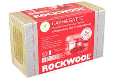 Звукоизоляция Звукоизоляция Rockwool Сауна Баттс 1000x600x50