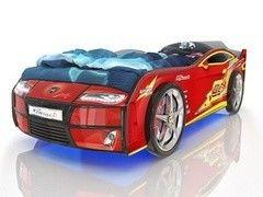 Детская кровать Детская кровать Romack Kiddy Красная Молния