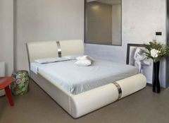 Кровать Кровать ZMF Милана (сп. место 180х200 см., белая)