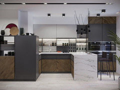 Дизайн квартир и коттеджей PuzzleHome Вариант 33