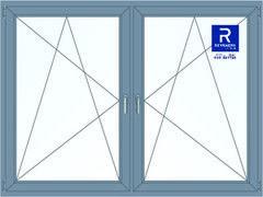 Алюминиевое окно Reynaers 2000*1500 ПО+ПО