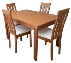Обеденный стол Обеденный стол Red&Black TVE-6777 Пола Бич (вишня)
