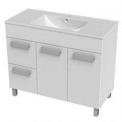 Мебель для ванной комнаты Triton Тумба напольная Ника-100 2 ящика