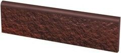 Клинкерная плитка Клинкерная плитка Ceramika Paradyz Cloud Brown Duro цоколь 30x8,1