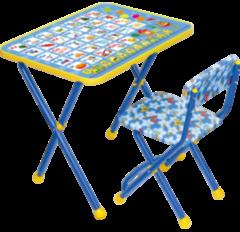 Детский стол Nika КП2 Познайка Азбука