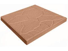Тротуарная плитка Тротуарная плитка Завод тротуарной плитки Черепашка 300*300*30 (коричневая)