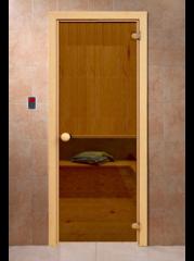Дверь для бани и сауны Дверь для бани и сауны Doorwood Классика 1900x700