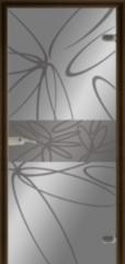 Стеклянная дверь Dariano Мальта (стекло прозрачное)