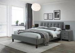 Кровать Кровать Halmar Samara 2 160 (серый/орех)
