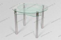 Обеденный стол Обеденный стол Стеклолюкс С 32-03 Дели Неон