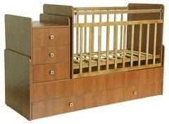 Детская кровать Кроватка Фея 1100 Бук