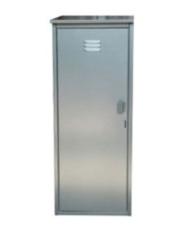 Шкаф металлический Декарт для газовых баллонов на 1 баллон 50 л.