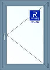 Алюминиевое окно Reynaers 1000*1400 П