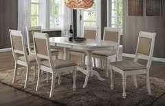 Обеденный стол Обеденный стол Avanti Eva White (6 стульев)