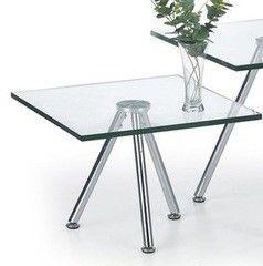 Журнальный столик Halmar Solo 1 прозрачный