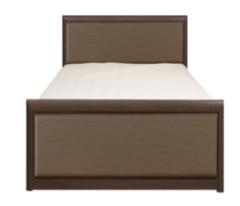 Кровать Кровать BRW Коен LOZ90х200 (венге магия/штрокс темный)