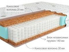 Матрас Матрас Kondor Solid-2 Medio трикотажный чехол 200х200