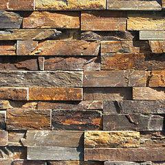 Натуральный камень Натуральный камень АЛЬТЕРфасад 3D панель из сланца Multicolor slate