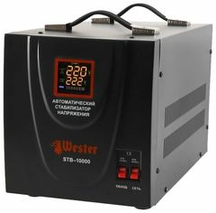 Стабилизатор напряжения Стабилизатор напряжения Wester STB-10000 (8 кВт)