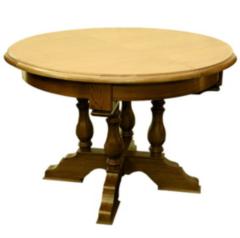 Обеденный стол Обеденный стол Гомельдрев Версаль ГМ 6070 (орех/патинирование)
