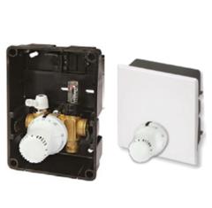 Комплектующие для систем водоснабжения и отопления Meibes Регyлировочный короб RTL-A Exclusiv с наружным термоэлементом (F11829) с расходомером