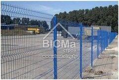 Забор Забор ВиСМа-строй Забор из сварной сетки с ПВХ покрытием (секционный)