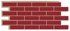 Фасадная панель ТЗК Техоснастка Керамит (красный)