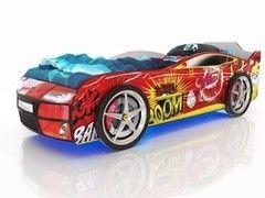 Детская кровать Детская кровать Romack Kiddy (красный бум)