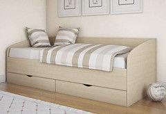 Детская кровать Детская кровать Боровичи-мебель Соня (шимо светлый)