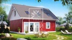Свой Дом Проект двухэтажного дома 10