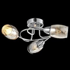 Настенно-потолочный светильник Евросвет 20034/3 хром