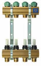 Комплектующие для систем водоснабжения и отопления KAN-therm Коллекторная группа (серия 75A) 75080A
