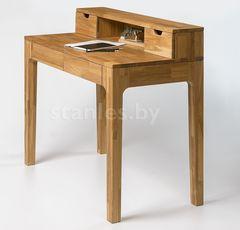 Письменный стол Стэнлес Марсенс 2 (105x55x91) отбеленный дуб, масло Natur, бейц-масло+воск